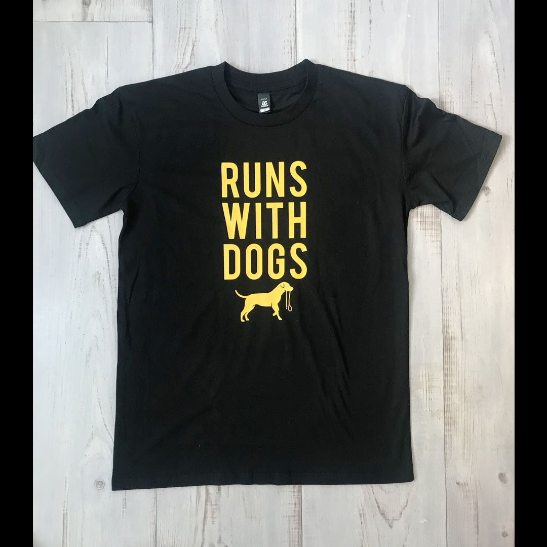 Image of Runs With Men's Tee