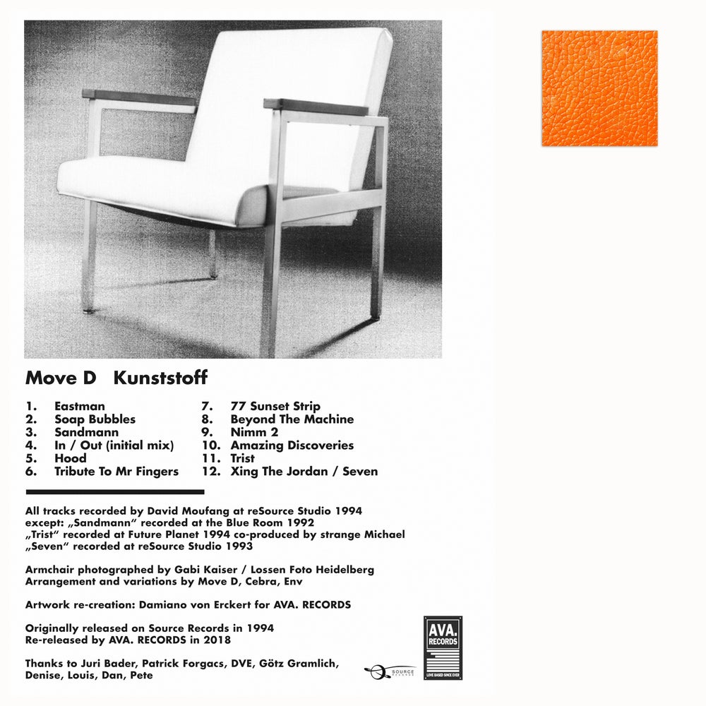 Image of MOVE D / KUNSTSTOFF / REISSUE / PRE-ORDER / AVA.LP006