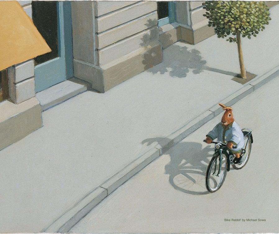 Image of 'Bike Rabbit' by Michael Sowa
