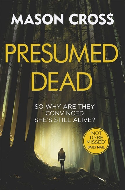 Image of Presumed Dead - UK mass market paperback edition signed by the author