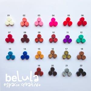 Image of Minilacre de colores: octógono 25 unidades