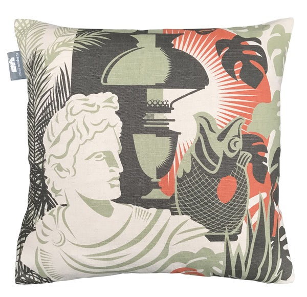 Image of Art Room Cushion - Harvest Orange