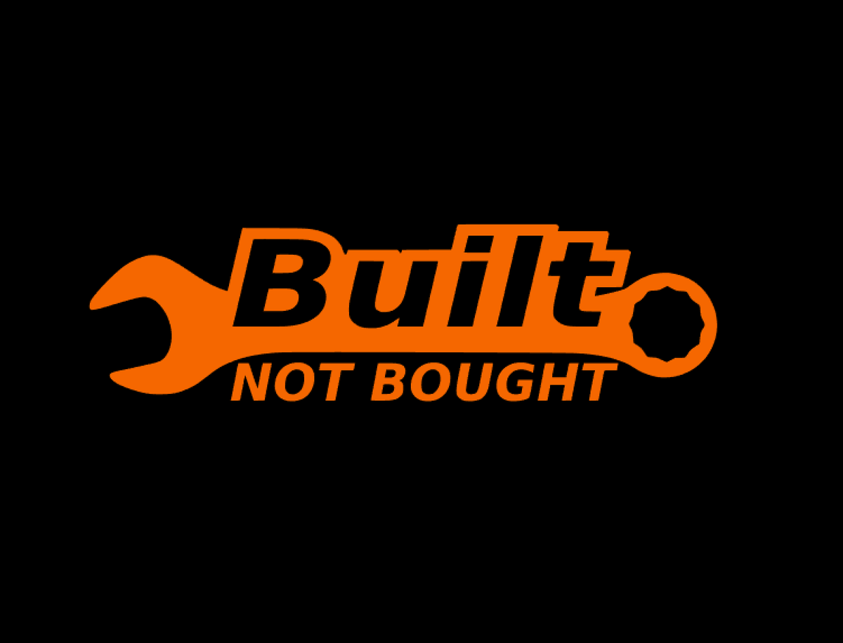 Image of Built Not Bought