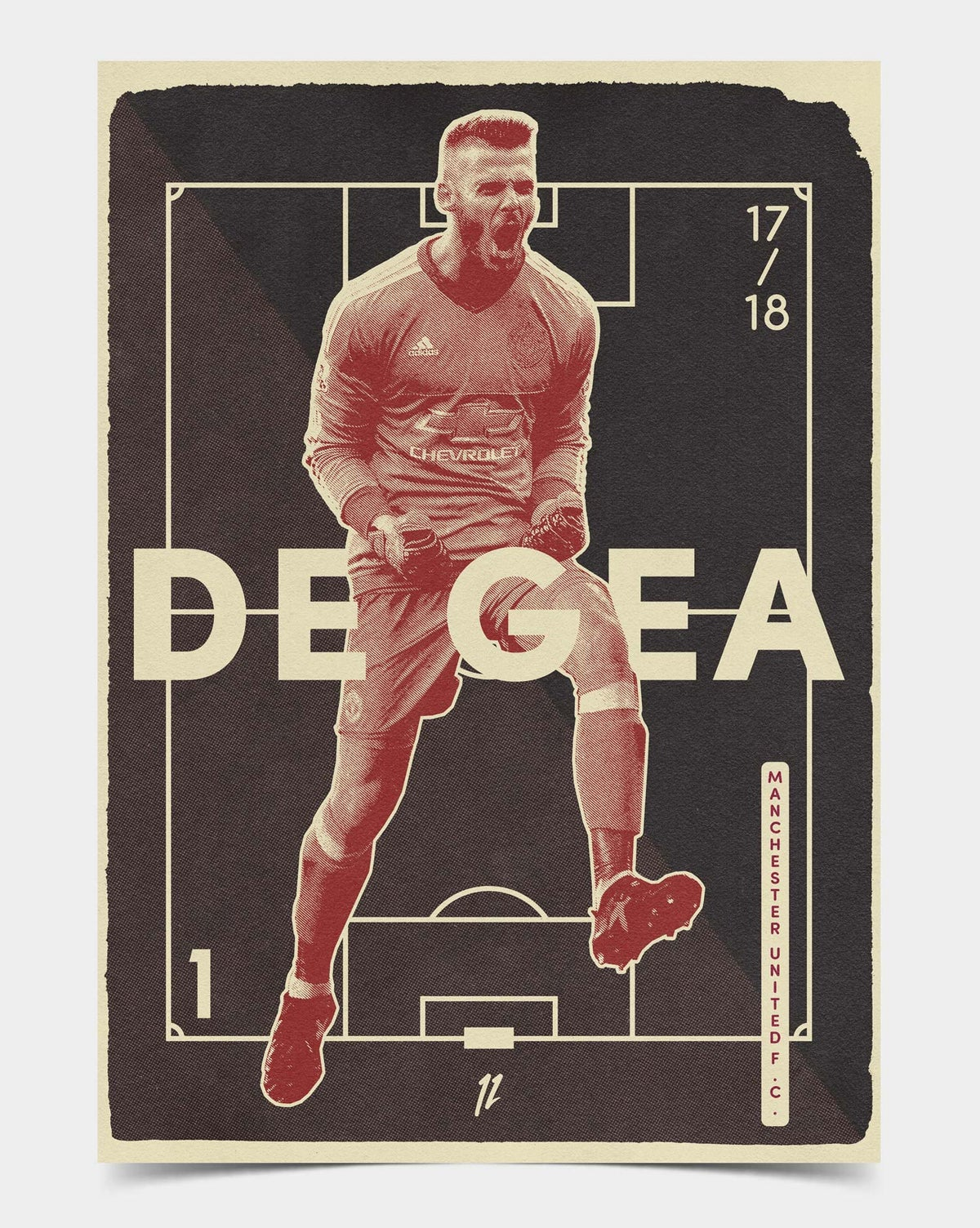 Image of De Gea Retro