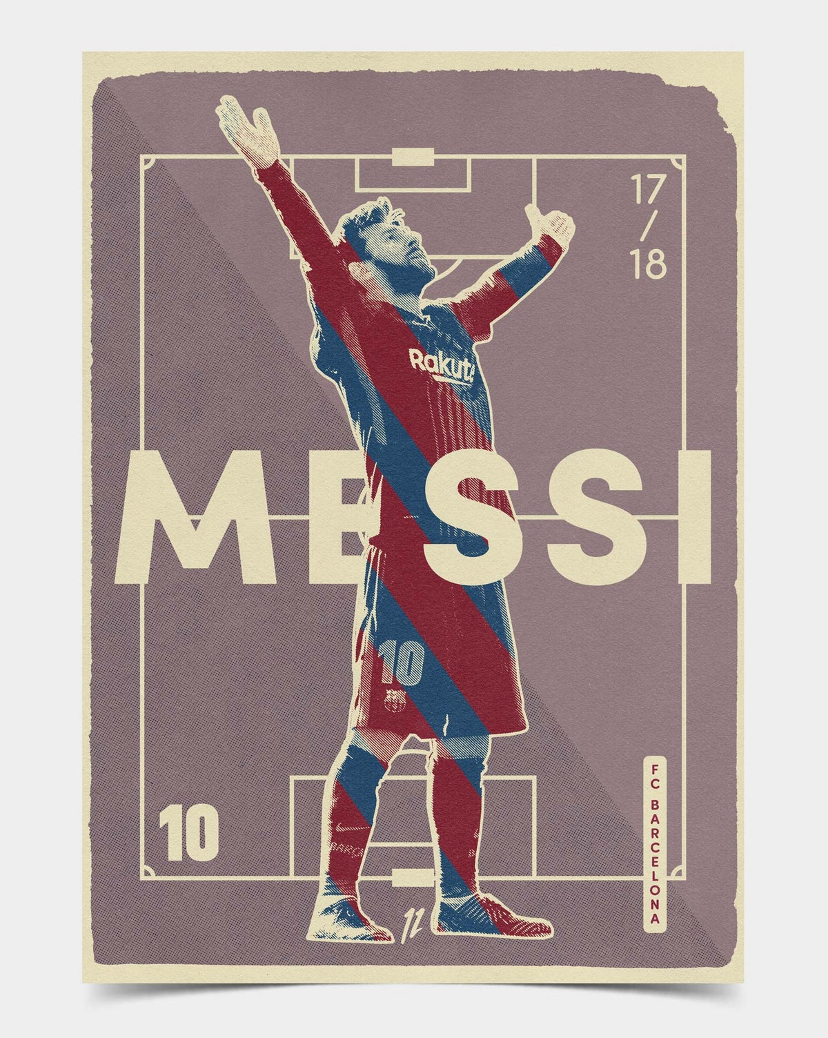 Image of Messi Retro