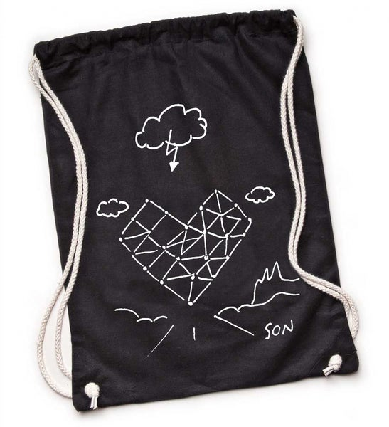 Image of SON Design Drawstring Rucksack