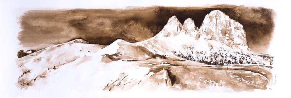 Image of Passo Sella, Dolomites Series