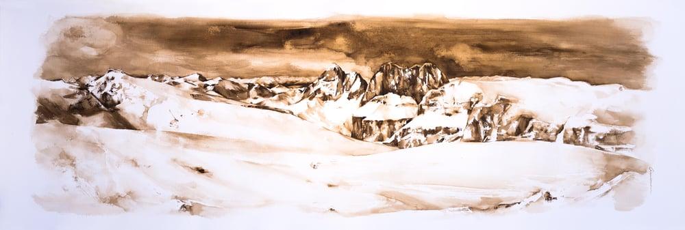Image of Sassolungo Study nº1, Dolomites Series