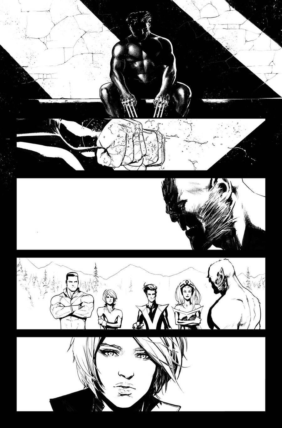 Image of HUNT FOR WOLVERINE P.29 ARTIST'S PROOF