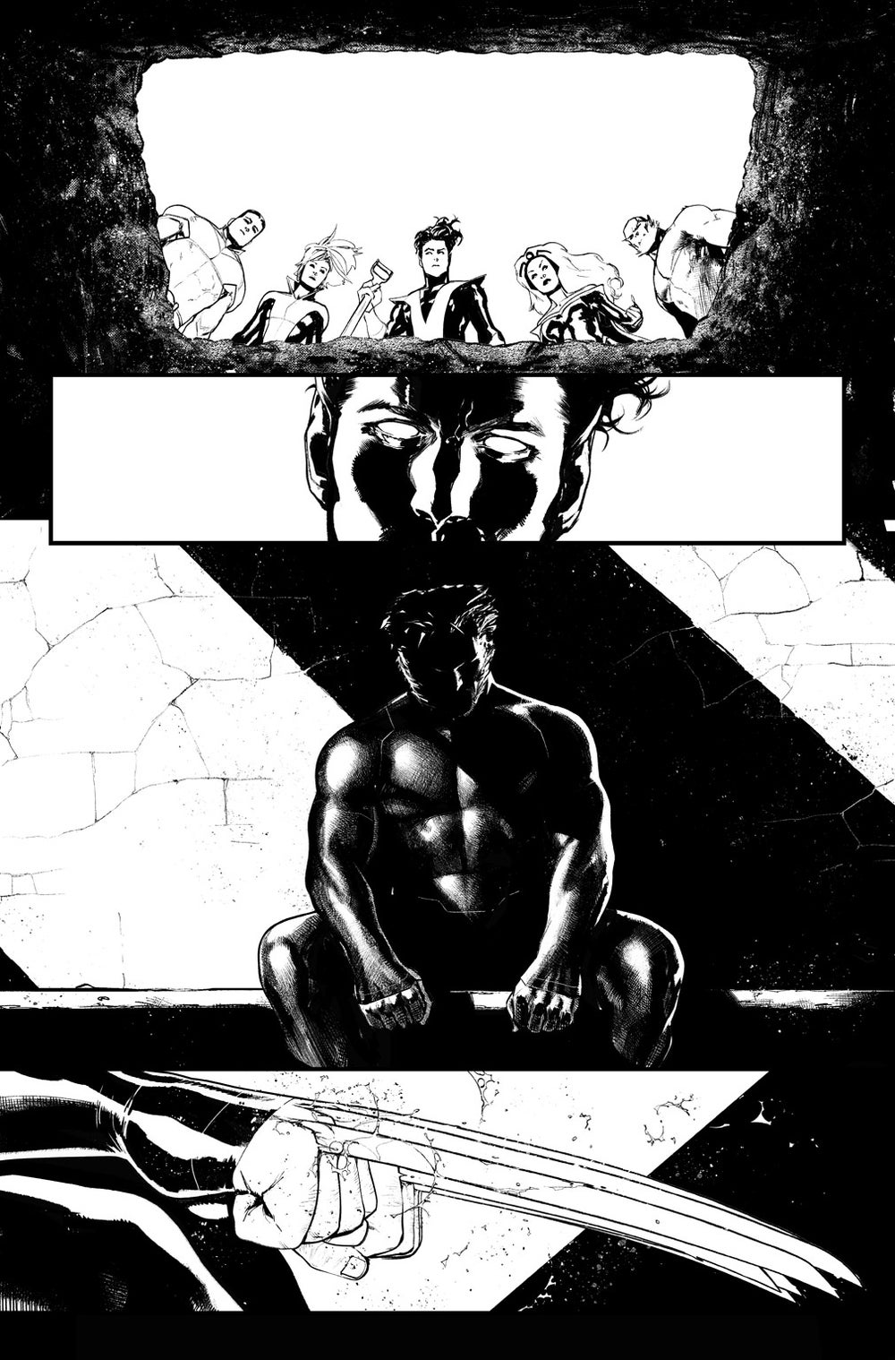 Image of HUNT FOR WOLVERINE P.28 ARTIST'S PROOF