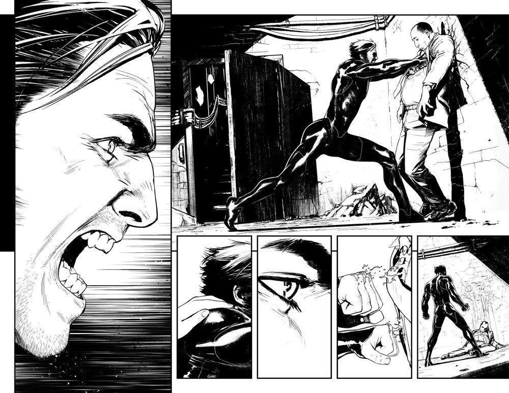 Image of HUNT FOR WOLVERINE P.26-27 ARTIST'S PROOF