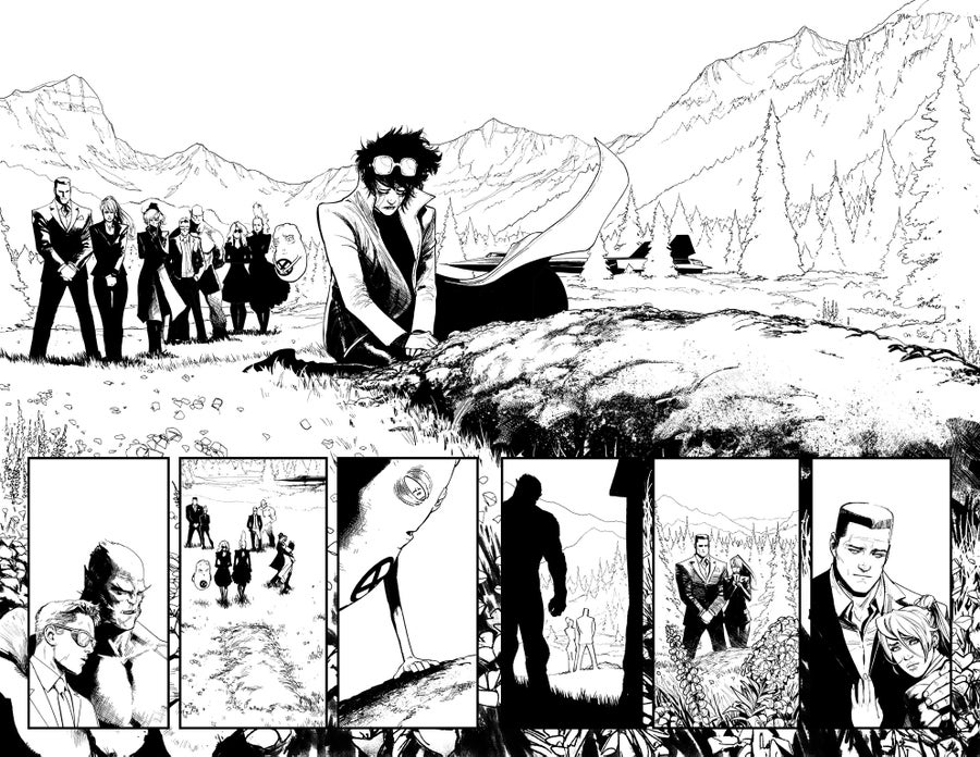 Image of HUNT FOR WOLVERINE P.20-21 ARTIST'S PROOF