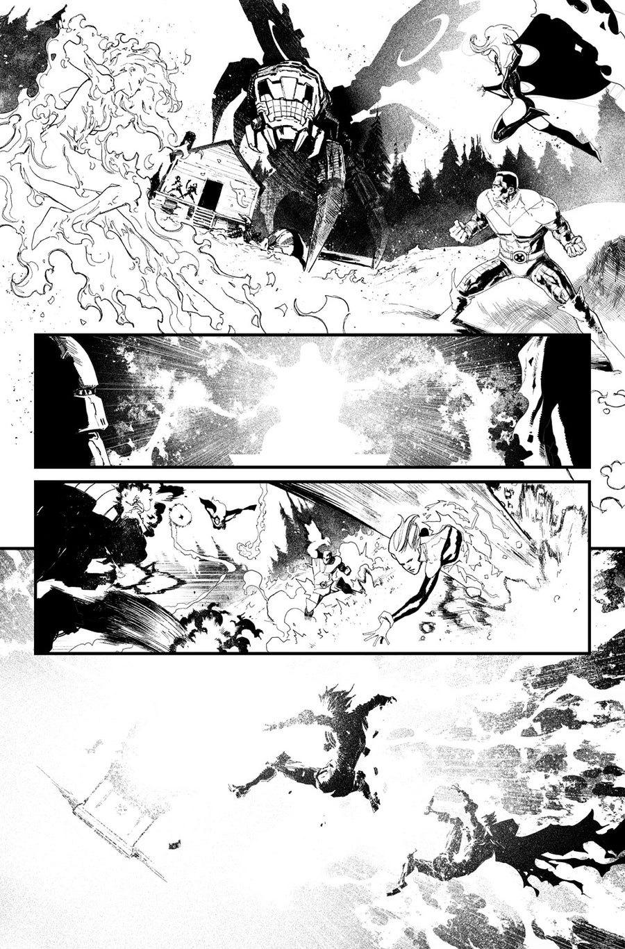 Image of HUNT FOR WOLVERINE P.15 ARTIST'S PROOF