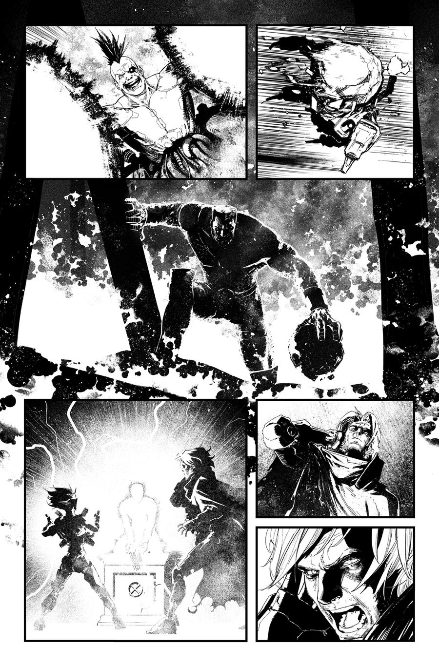 Image of HUNT FOR WOLVERINE P.14 ARTIST'S PROOF