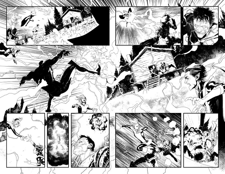 Image of HUNT FOR WOLVERINE P.12-13 ARTIST'S PROOF
