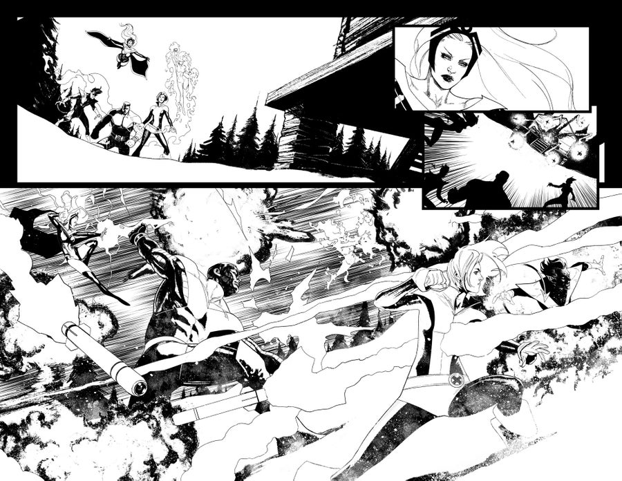 Image of HUNT FOR WOLVERINE P.06-07 ARTIST'S PROOF