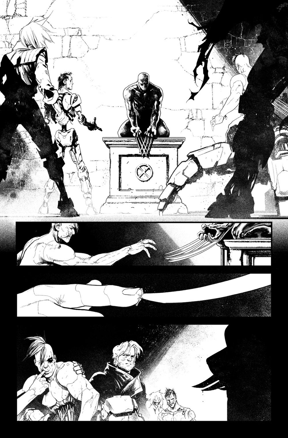Image of HUNT FOR WOLVERINE P.03 ARTIST'S PROOF