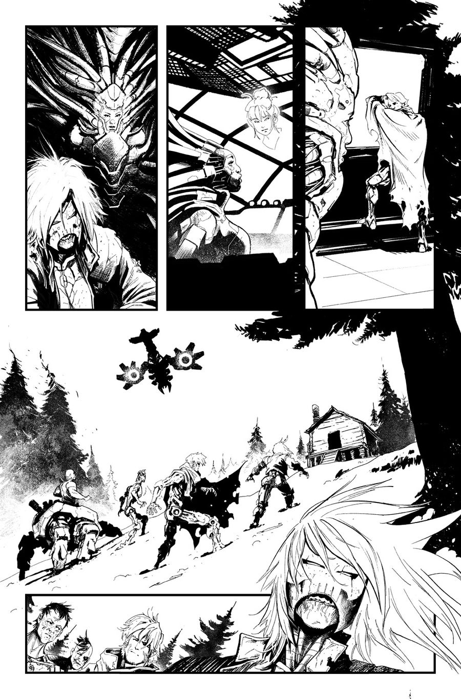 Image of HUNT FOR WOLVERINE P.02 ARTIST'S PROOF