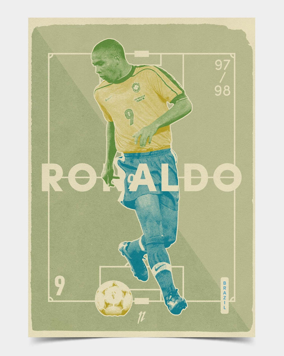 Image of Ronaldo Brazil Retro