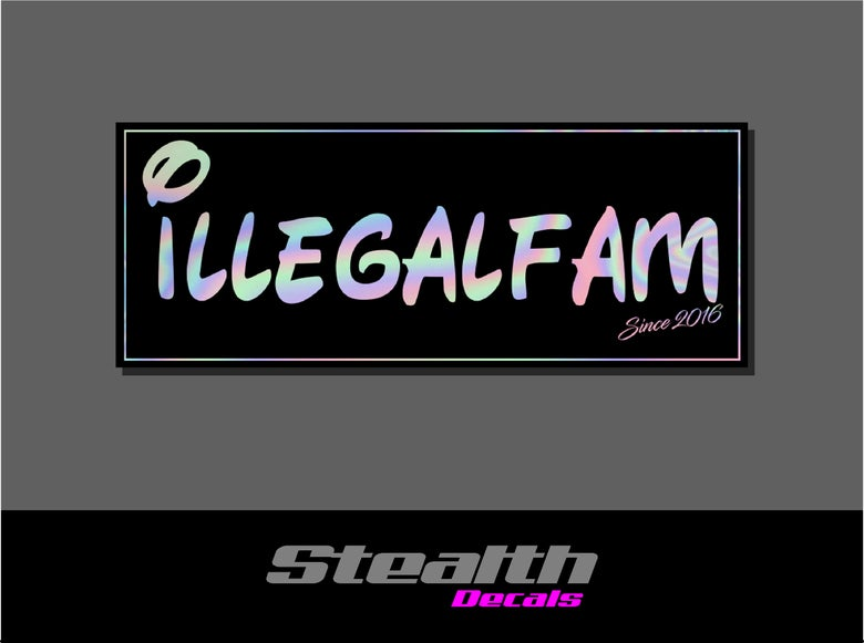 Image of ILLEGAL Disney Slap Sticker
