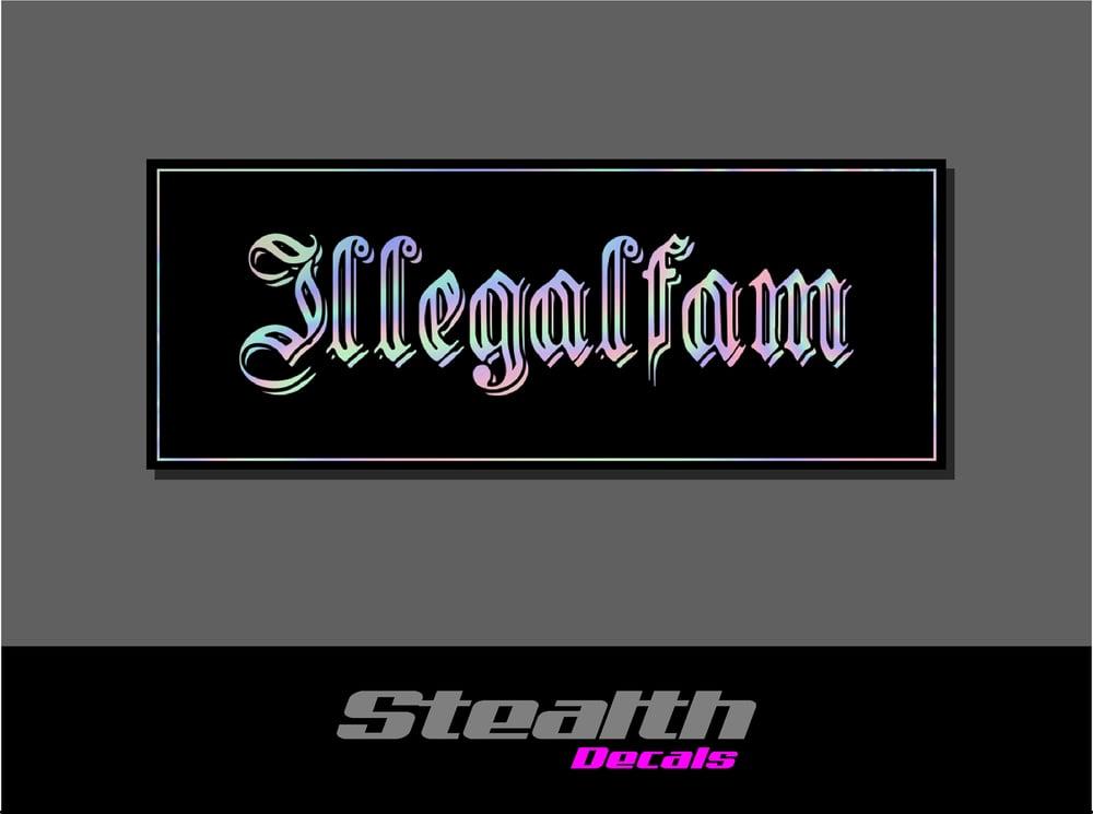 Image of ILLEGAL Heavy Slap Sticker