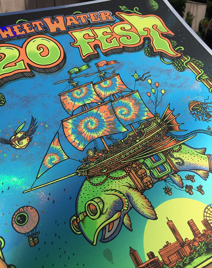 Image of Sweetwater 420 Fest 2018 & foil variants