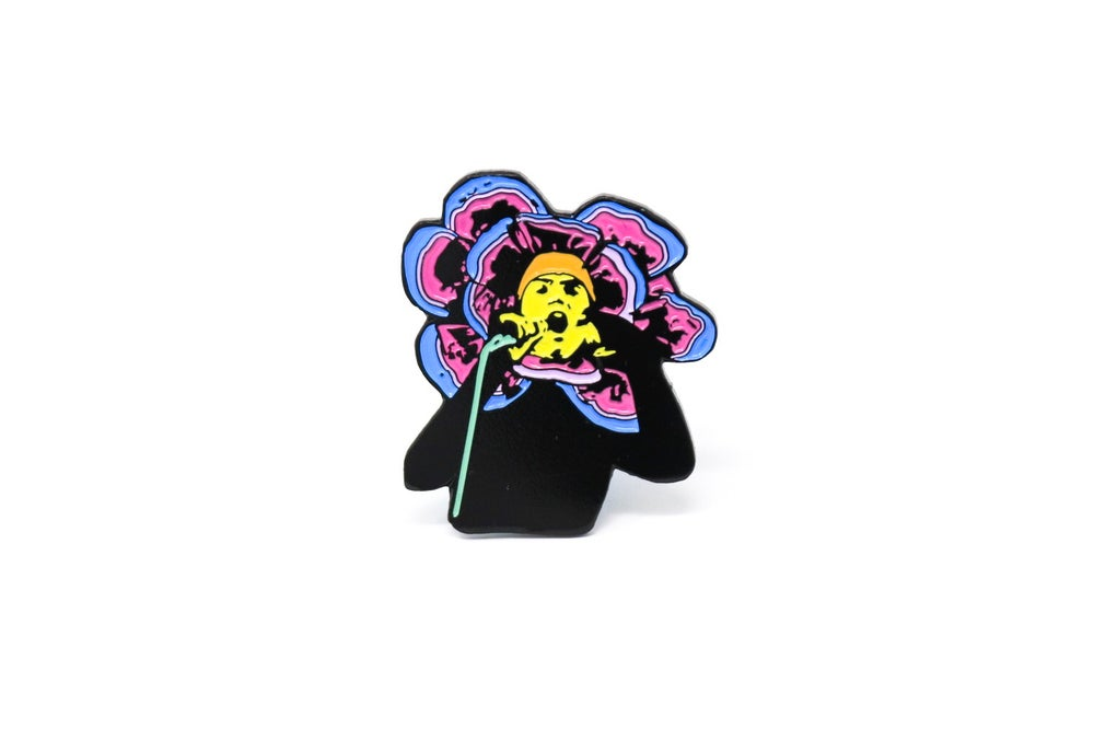 Image of Genesis - Flower Enamel Pin