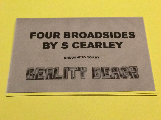 Image of Four Broadsides by S Cearley