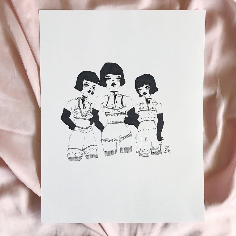 Image of Misery Loves Company Original 8.5 x 11