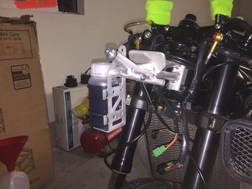Image of Mk2 fuel / coolant overflow bottle bracket