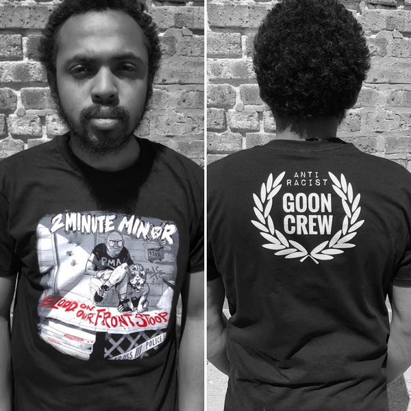 "Image of  ALMOST SOLD OUT ""Blood On Our Front Stoop"" T-Shirt"