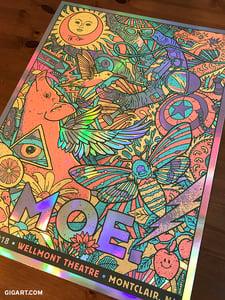 Image of Moe. Rainbow Foil Variant - Montclair NJ