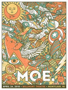 Image of Moe. Poster - Montclair NJ