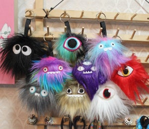 Image of Monster Keychains