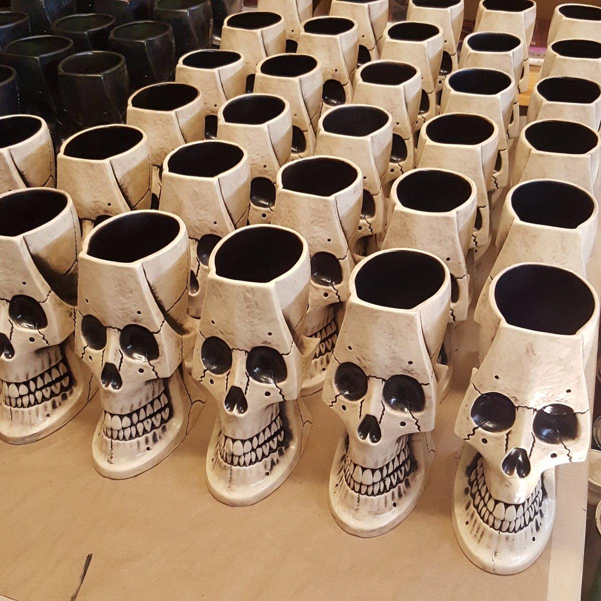 Image of Irwin the 2nd Skull Mug Limited Edition of 100 Bone