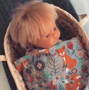 Image of Doll blanket set