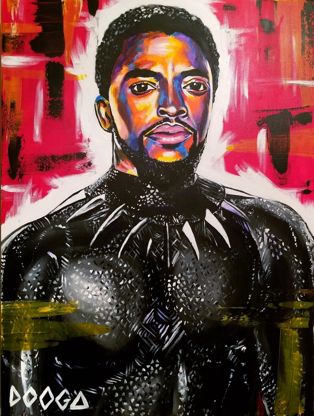 Image of T'CHALLA - Canvas Print