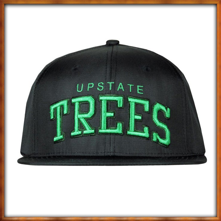 Image of Upstate Trees V4 Black and Green