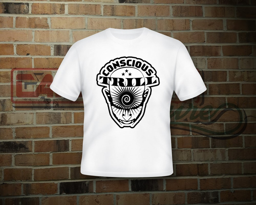 Image of Unisex Conscious Trill White T-Shirt