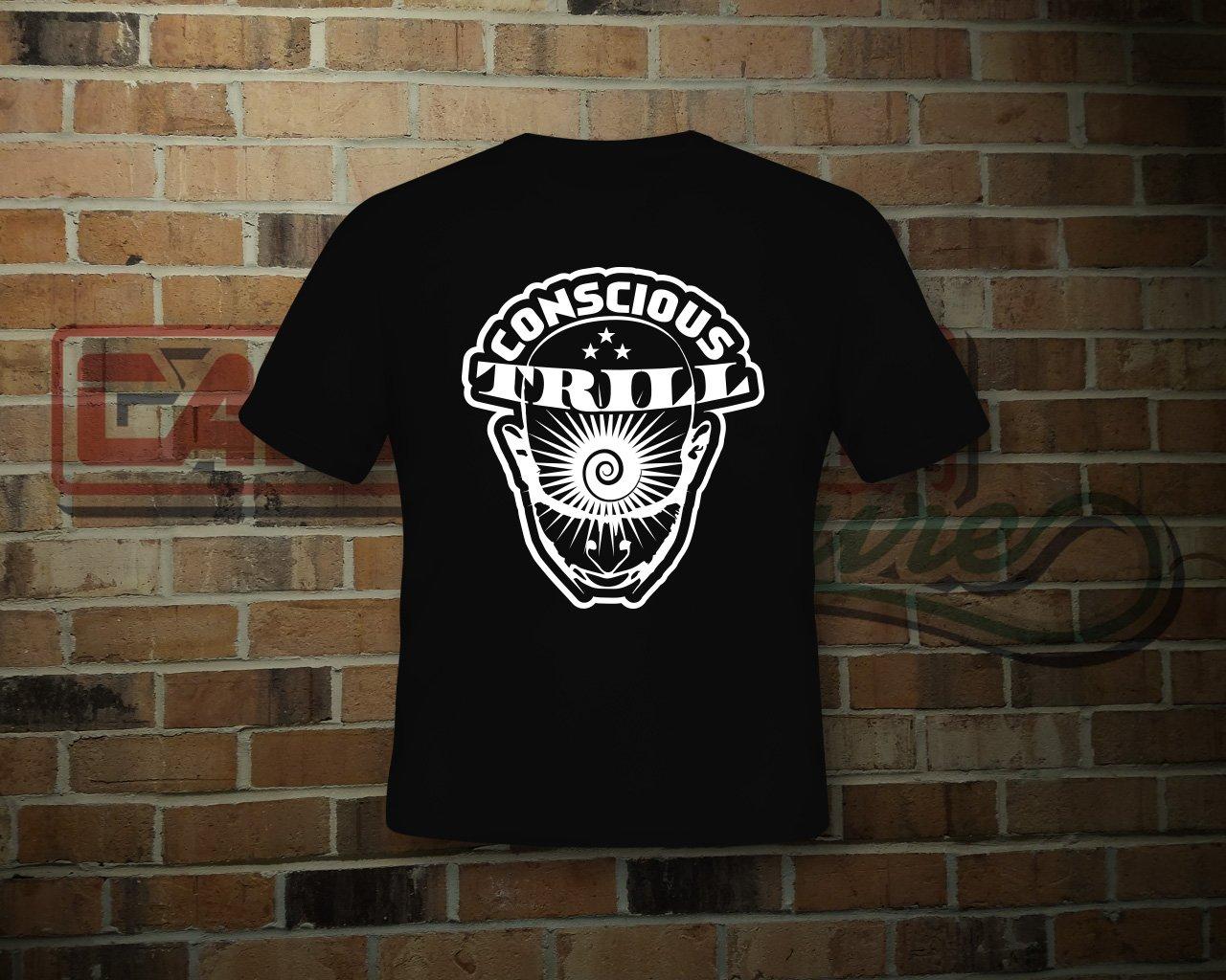 Image of Unisex Black Conscious Trill T-Shirt