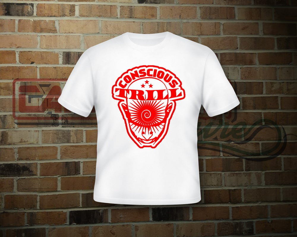 Image of Unisex Conscious Trill T-Shirt/Red