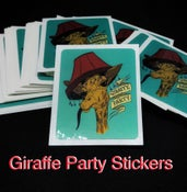 Image of Giraffe Party - Stickers