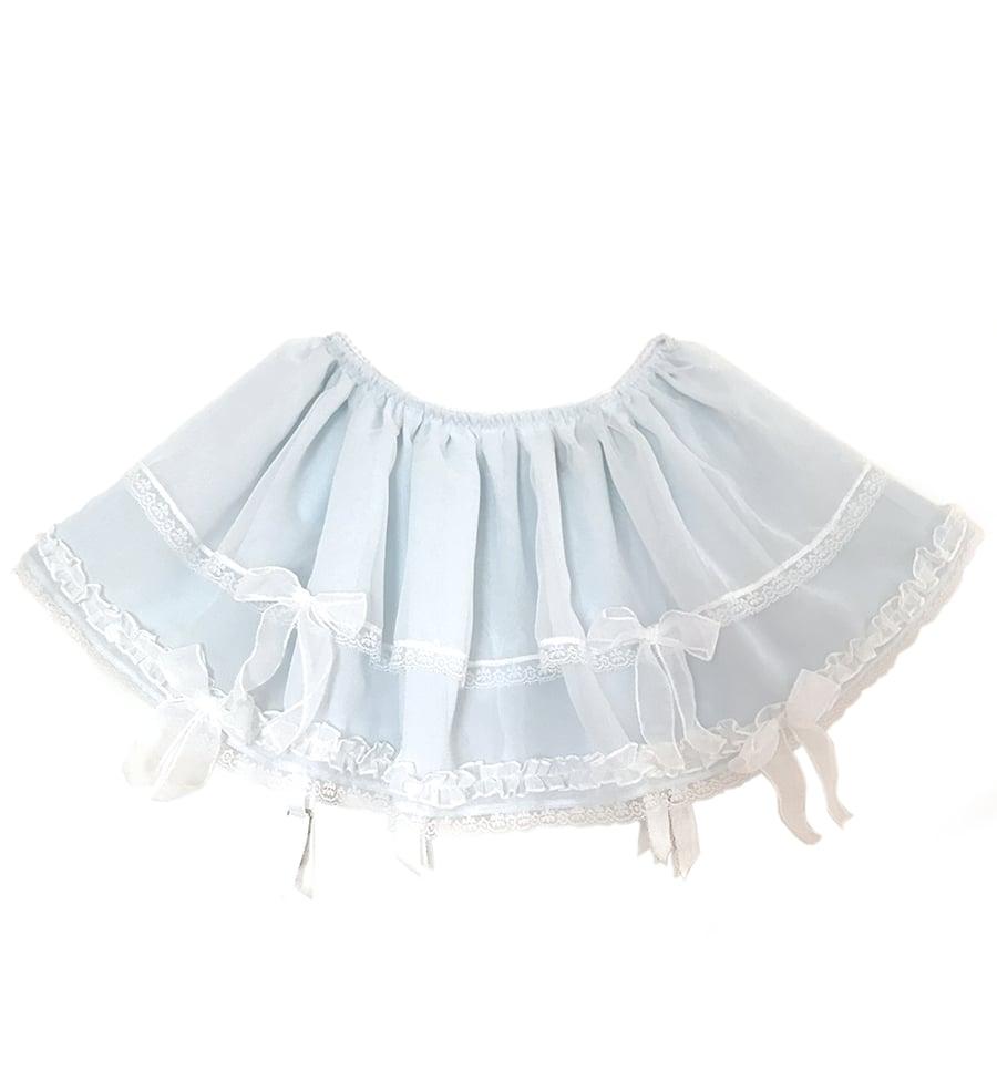 Image of Lillie Skirt - Baby Blue