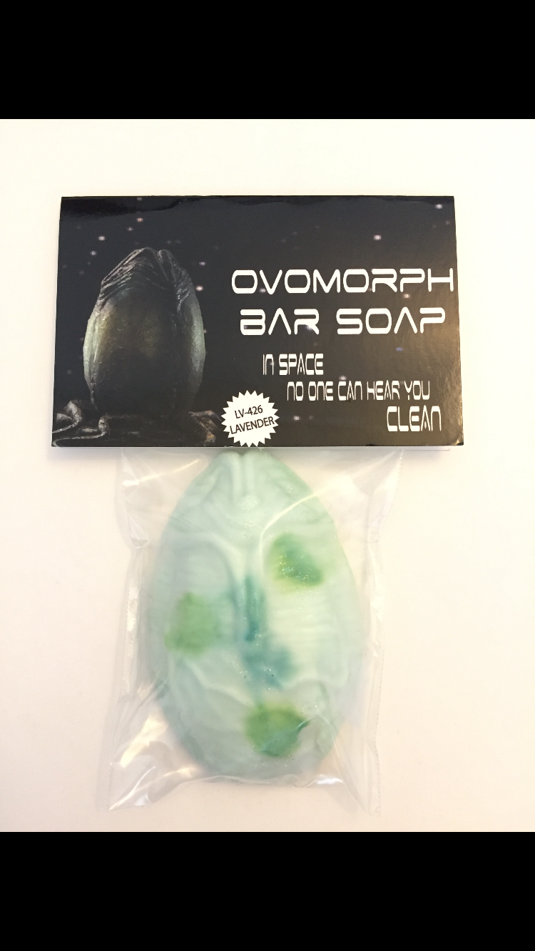 Image of Aliens ovomorph soap bar