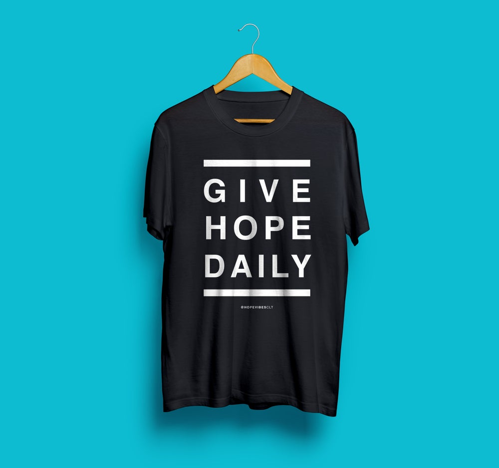 Image of Give Hope Daily - Black & White
