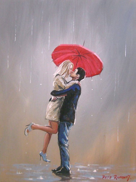 Image of 'A KISS IN THE RAIN'