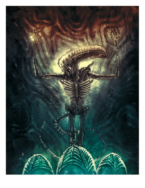 Image of ALIEN DAY 2018 PRINT