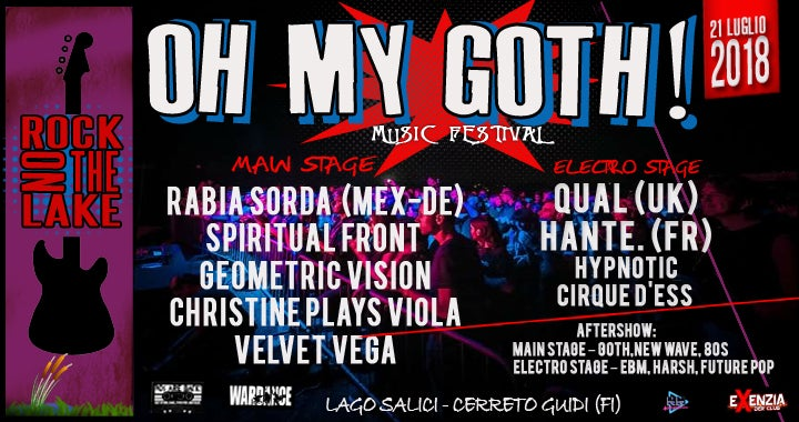 Image of Oh My Goth Festival - Pre Sale ended 8th July - tickets available at desk