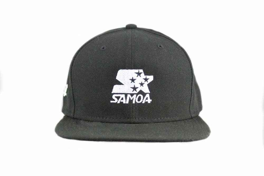 Image of 5 STARter hat - Black snapback
