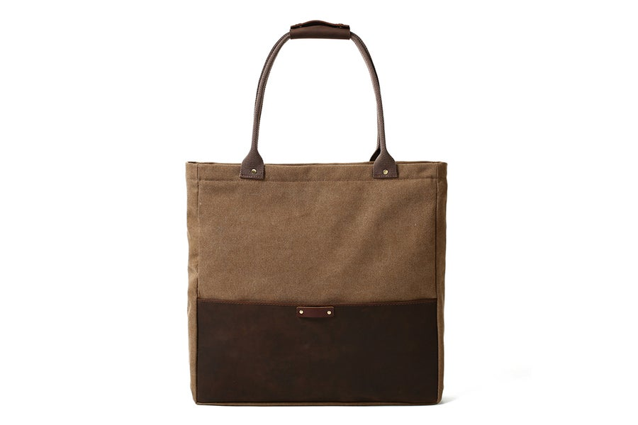 Image of Handmade Canvas Leather Tote Bags, Shopping Bags, Shoulder Bags, Lady Handbags 14051